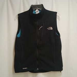 The North Face windwall fleece vest